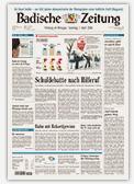 Busses Waldschänke in der Badische Zeitung
